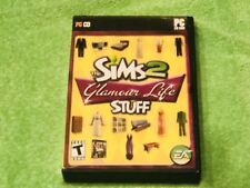 The Sims 2: Glamour Life Stuff (PC, 2006) AND Sims 2 open for business.
