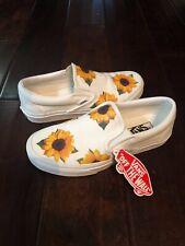 Custom Drip Creationz Vans Sunflower size 7