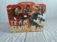 Marvel Team Cap vs Team Stark 3D Tin Metal Lunchbox Carry