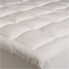 Mattress Pad Full Size Microplush Topper Pillow Top Bed Cover Comforter Bedding