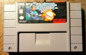 Ken Griffey Jr.'s Winning Run (Super Nintendo) VG Shape & Tested Authentic