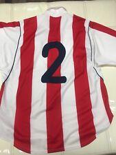 Atletico De Madrid March Worn Shirt #2 Nagore Preseason 2001