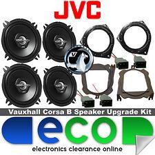 Vauxhall Corsa B 93-00 JVC 1000 Watts Front Door & Rear Hatch Car Speaker Kit