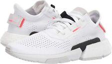 Adidas Men's POD S3.1 Primeknit Sneaker, White/Shock Red, US 13, DAMAGED