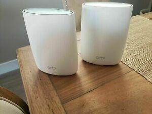 NETGEAR Orbi Tri-band Whole Home Mesh WiFi System (RBK50 & RBS50)