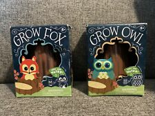 Grow Owl And Grow Fox. Just Add Water