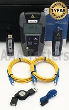 Jdsu Viavi Ols-35 Smartpocket Sm Fiber Light Source w/ Mp-60 Power Meter Ffl-050