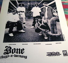 "BONE THUGS-N-HARMONY - PROMO 8"" X 10"" PHOTO ----------  K @ @ L"