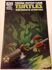 TMNT New Animated Adventures 1 Awesome Con 2013 Exclusive Variant Ninja Turtles