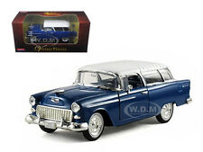 1955 CHEVROLET NOMAD BLUE 1/32 DIECAST MODEL CAR BY ARKO PRODUCTS 35521