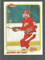 1981-82 Topps Hockey Dale McCourt #129 Detroit Red Wings Super Action NM/MT