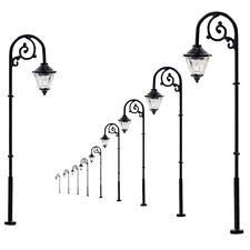 10pcs Model Railway Warm White Lamps 1:87 Street Lights HO Scale LED 6.3cm LYM57