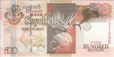 "SEYCHELLES BANKNOTE P41 500 RUPEES LOW SERIAL NUMBERS, UNC 'WE COMBINE"""