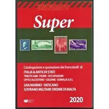 UNIFICATO SUPER 2020 CATALOGO FRANCOBOLLI AREA ITALIANA e ANTICHI STATI NUOVO MF