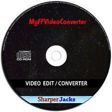 NEW & Fast Ship! MyFFVideoConverter Video Converter / Editor / DVD Ripper Disc