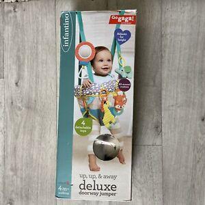 Infantino Go gaga! Up, Up & Away Deluxe Doorway Jumper Toddler Baby Game Toy