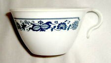 LQQK - THREE Corelle OLD TOWN BLUE Cups HOOK HANDLE - EXCELLENT CONDITION