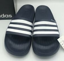 NWT Adidas Mens Duramo Slide Size 18 Navy