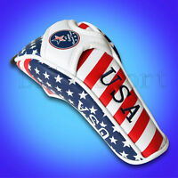 New Hybrid Golf Rescue Head Cover USA Flag For Taylormade M1 M2 R15 SLDR Utility