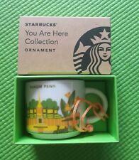 Starbucks Mug 2 FL OZ / 59 ml Phnom Penh Cambodia Coffee Cup Global Icon New