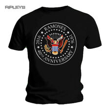 Official T Shirt Punk Ramones Hey HO 40th Anniversary Seal All Sizes M