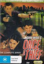 John Woo's Once a Thief - Complete Series NEW PAL Cult 8-DVD Set Ivan Sergei