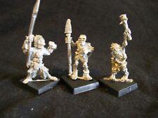 Warhammer Skeleton warriors in Chain mail X3