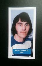 ENGLAND - QPR - GERRY FRANCIS Score UK football trade card