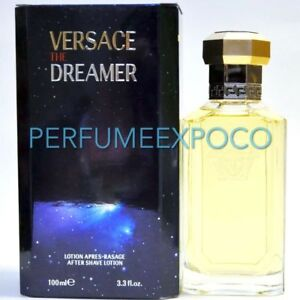 VERSACE THE DREAMER MEN Aftershave Lotion 3.3oz-100ml RARE Vintage (ID18