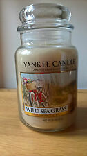 Yankee Candle Wild Sea Grass Large Jar 22oz fresh scent RETIRED collectors
