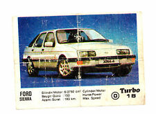 TURBO 1st 1-50 #18_2 - VERY RARE BUBBLE GUM CHEWING WRAPPER INSERTS PICS VINTAGE