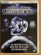 ARTHUR C CLARK'S MYSTERIOUS WORLD DVD (2 discs)  ALL 13 EPISODES