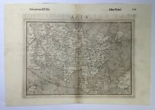 ASIA ARABIA 1598 PTOLEMY / RUSCELLI ANTIQUE ENGRAVED MAP 16TH CENTURY