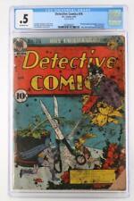 Detective Comics #76 - CGC 0.5 IN - DC 1943 - Batman - Joker App & Cover!