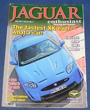 JAGUAR  ENTHUSIAST JULY 2011 - THE FASTEST XK EVER - WHAT A CAR!