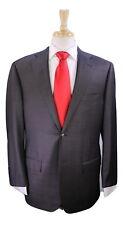 * CORNELIANI * 2018 Brown Tonestripe 2-Btn Luxury 18,25 Micron Wool Suit 40R