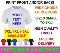 DESIGN YOUR OWN CUSTOM PERSONALISED T SHIRTS Stag Do Hen Party Fancy Dress