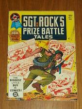 DC BLUE RIBBON DIGEST SPECIAL #7 SGT ROCK PRIZE BATTLE TALE BRITISH POCKET BOOK