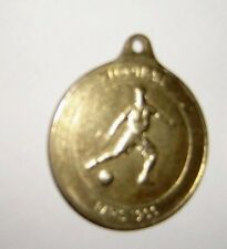 1896 - 1984 commemoration of the olympic games Football Paris 1900 Medal