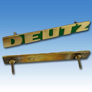Deutz Haubenschriftzug Schriftzug 2505 3005 4005 5005 5505 6005 Emblem