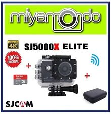 SJCAM SJ5000X Elite 4K WiFi Action Cam + Sandisk Ultra microSD 32GB + Bag (BK)