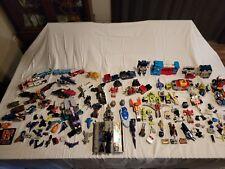 Huge Lot of vintage 1980's transformers