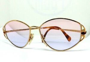 GIAN MARCO VENTURI Sunglasses View Woman Vintage Ages 80 Italy Gold