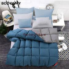 100% White Goose Down Comforter Duvet Insert Blanket Filling Feather 2020