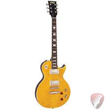 "New! Vintage Icon V100MRPGM Peter Green Lemon Drop ""LP"" Style Electric Guitar"
