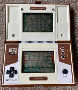 Nintendo Game & Watch Donkey Kong 2 II WORKING FANTASTIC CONDITION