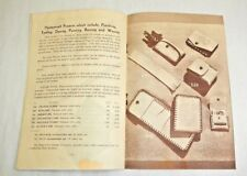 1948 HortonCraft Handbook for leather projects kits CT wallets braiding belts