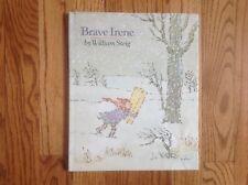 BRAVE IRENE book by William Steig FIRST EDITION 1986 HBDJ Nice Condition!