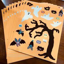 ~ Retired NLA Spooky Spiders Creepy Halloween Mrs Grossman Stickers ~