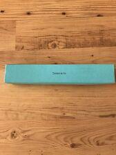 """Tiffany & Co Empty Blue Gift Storage Box11 1/8"""" x 2"""" x 1.5"""" Authentic/Unusual Sz"""